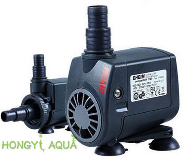 1 Piece Plastic EHEIM Fish Tank Submersible Pumps Quiet Pump Circulation Pump Water Pump Compact 300/600/1000/2100/3000/5000