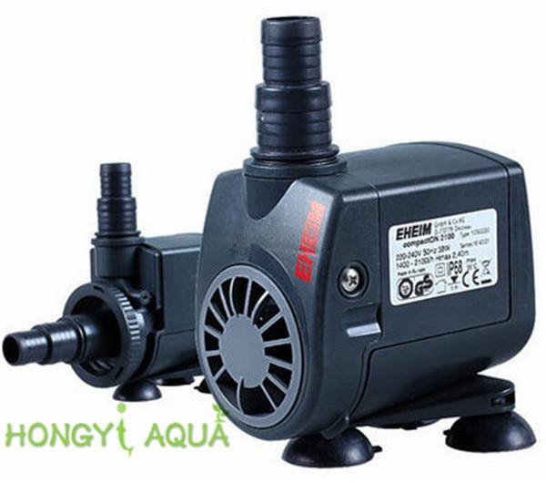 1 Piece Plastic EHEIM Fish Tank Submersible Pumps Quiet Pump Circulation Pump Water Pump Compact 300/600/1000/2100/3000/5000
