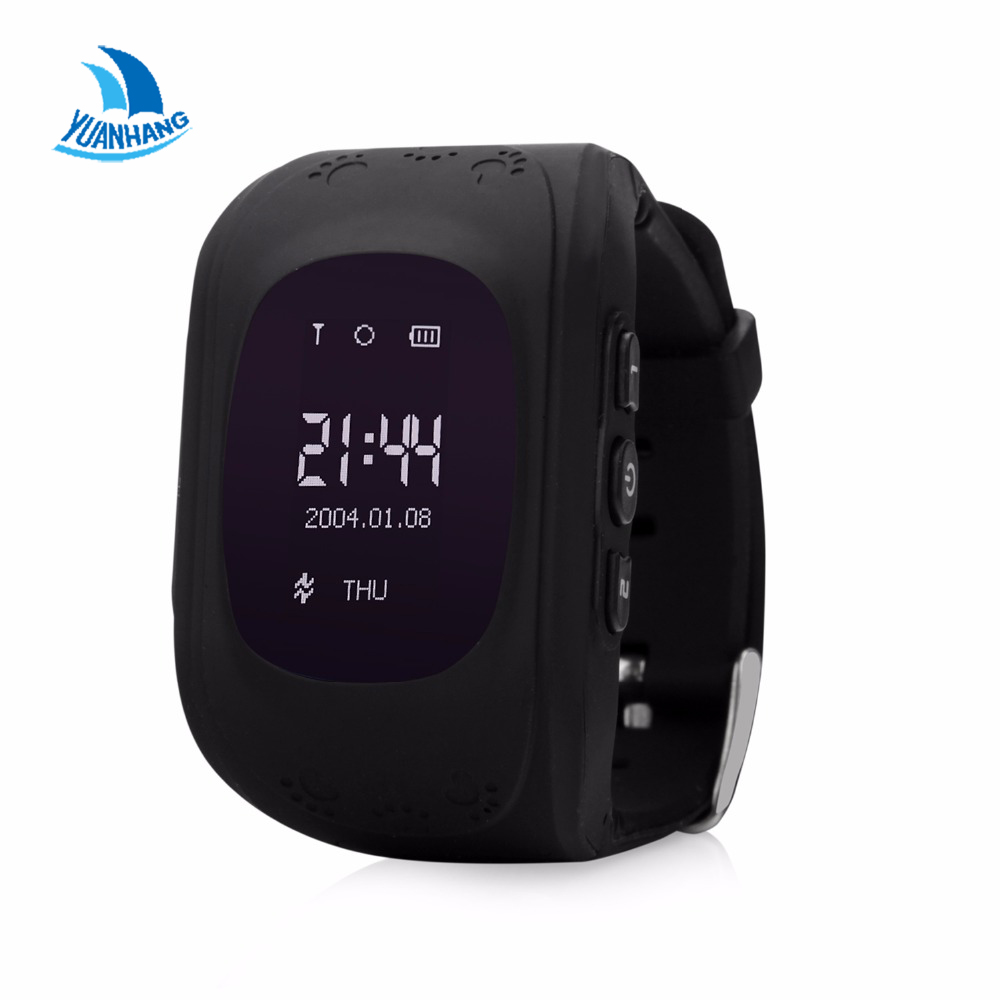 Q50 Smart Safe GPS Watch Wristwatch SOS Call Location Finder Locator Tracker Kids Baby Anti Lost