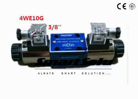 Free shipping rexroth type 4WE10G 3/8'' hydraulic directional valves with  wet pin AC220V solenoids,4 actuator ports Nominal size-in Pneumatic Parts