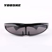 YOOSKE X-men Individuality Sunglasses Mercury Lens Laser Glasses Travel Windproof Sun Glasses Robots Eyewear