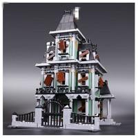 16007 2141 Unids Ciudad Monster Fighter Haunted House Modelo Kit De Construccion Minifigure Juguetes De Bloques