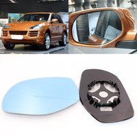 Для Porsche Cayenne 2004-2010 боковой вид двери зеркало синее стекло с базой с подогревом 1 пара