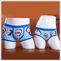 Lovely Cartoon Underwear Couple Panties Underpants Mens Boxers Shorts Cuecas Calzoncillos Lovers underwear Striped Printed L XL