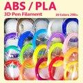 Качественная продукция pla/abs 1 75 мм 20 видов цветов 3d Ручка нить pla 1 75 мм pla нить abs нить 3d ручка пластиковая 3d нить rainbo
