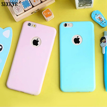 Cute Soft Silicone Case For iPhone 6S 5S 5SE 5 6 S iPhone XS