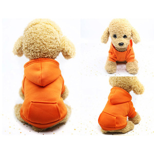 Image 3 - Dog Hoodies Autumn and winter warm sweater For Dogs Coat Jackets Cotton  Puppy Pet Overalls For Dogs clothes Costume Cat clothes