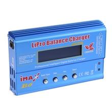 Chegada Nova Alta Qualidade 80 W Imax B6 Lipro Nimh Li-ion Ni-cd RC Balance Bateria Descarregador Carregador Digital Frete Grátis
