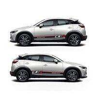 World Datong Car Body Door Side Decor Sticker For Mazda CX 3 Mark Levinson car decals auto sticker