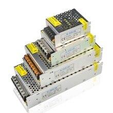 Güç kaynağı ledi sürücü AC 220V DC 12 V 1A 3A 5A 8A 10A 15A 20A 12 volt şarj cihazı aşağı adaptörü aydınlatma trafo
