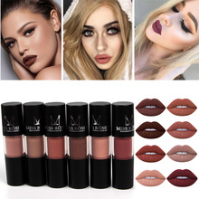 Miss Rose 12 Color Matte Nude Sexy Lip gloss Women Makeup Wa