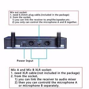 Image 4 - Freeboss FB U10 Dual Way Digital UHF Wireless Microphone with 2 Metal Handhelds