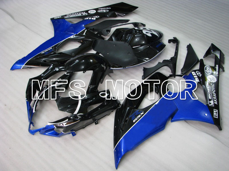 For Suzuki GSXR 1000 K5 2005 2006 Injection ABS Fairing Kits GSXR1000 K5 05 06 - Jordan - Black/Blue custom injection moulding moto fairing kit for suzuki k5 2005 2006 kits 05 gsxr 1000 06 red black rizla full fairings kits