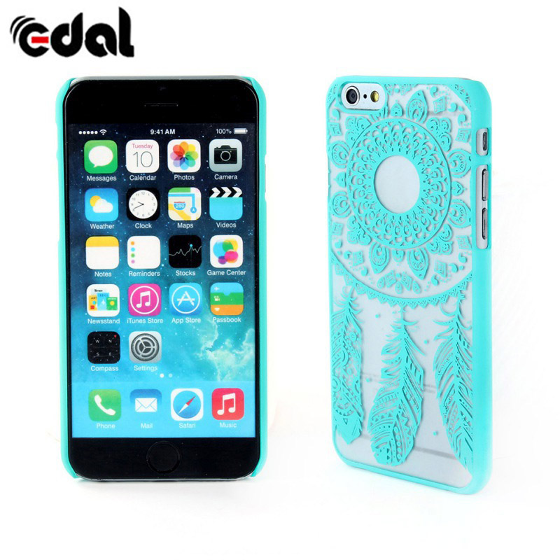 EDAL Painted Floral Pattern <font><b>Phone</b></font> Hard Back Skin Case Cover For iPhone 6 <font><b>6G</b></font> <font><b>Mobile</b></font> <font><b>Phone</b></font> Case