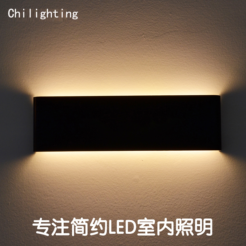 18W Hot sale modern aluminum material LED wall lamp mirror lamp bedside bathroom lamp anode oxide surface finishing length 90cm on sale modern aluminum