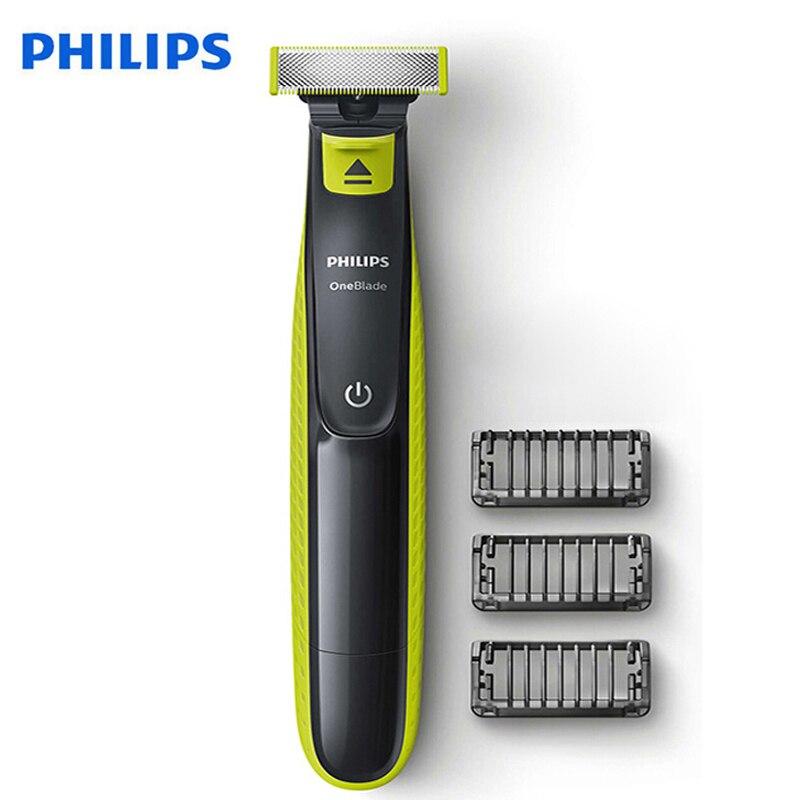 Afeitadora eléctrica Philips onesblade QP2520 con batería recargable NimH soporte húmedo y seco para afeitadora de hombre