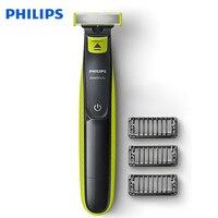 Philips oneblade qp2520 barbeador elétrico recarregável com suporte de bateria nimh wet & seco para barbeador masculino