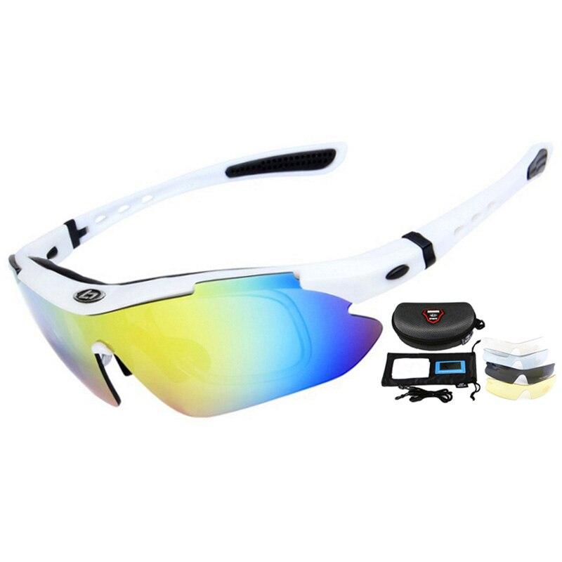 UV400 profissional Ciclismo Eyewear Polarized Óculos Ciclismo Bicicleta  Óculos de Bicicleta Óculos Óculos de Sol Gafas Cicismo 5 Lente em Ciclismo  Óculos de ... ec9c9da74c