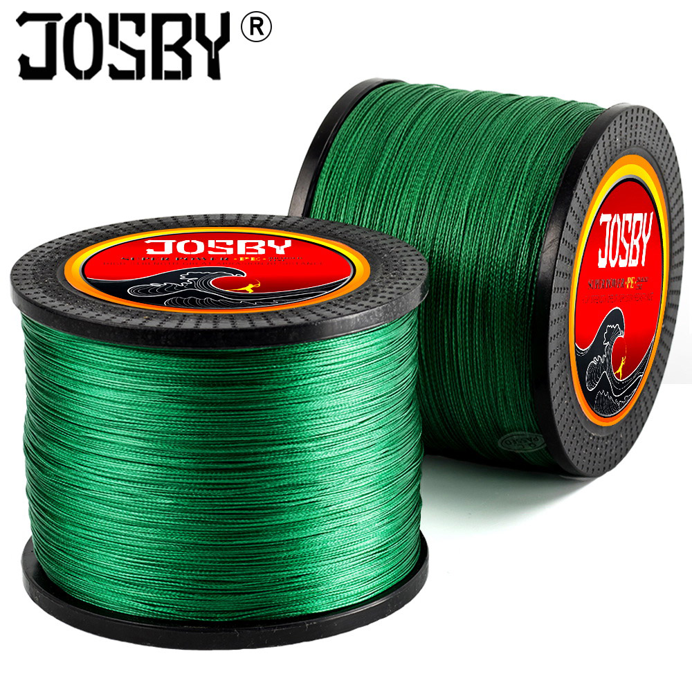 8 Strands PE Braid Fishing Line wire 150-1000M Sea Saltwater Fishing Weave 100% Super Power cord Braided Wire tresse peche image