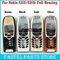 Para nokia 6310 6310i alta calidad a estrenar teléfono móvil tapa de la caja (sin teclado) + herramientas gratuitas, envío Gratis