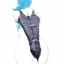 Черные кожаные Секс-игрушки БДСМ фетиш садо комплект Связывание restrait секс БДСМ рабыня игры Sexy Секс Игрушки взрослых для Для мужчин и Для женщин.