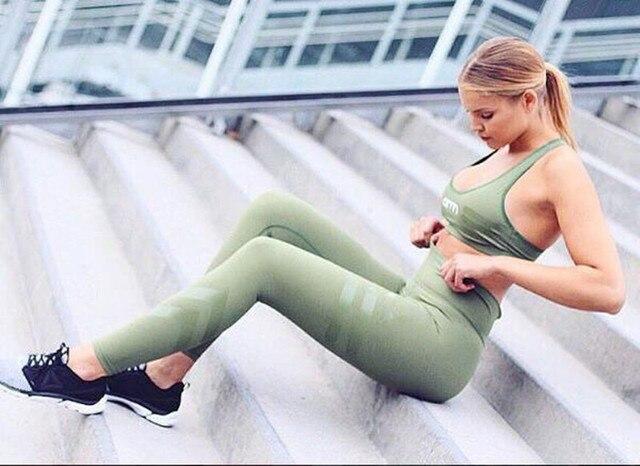 New Women Push-up Sporting Leggings Print Fashion Patchwork Elastic Skinny Fitness Leggings Women Work out Sporting Leggings