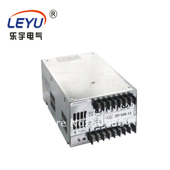 Wide range 500w led power supply CE RoHS approved SP-500-27 single output 27v ac-dc switching power supply