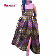 african dresses for women dashiki bazin riche style femme clothes graceful lady print wax plus size party dress  WY3595