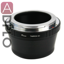 Lens adapter work for Tamron Adaptall II Lens to Nikon 1 J1 V1 Mount Adapter Ring Without Tripod Mount 50mm f1 8 manual lens c mount adapter macro rings kit for nikon 1 nikon1 j1 j2 j3 j4 j5 v1 v2 v3 s1 s2 aw1 camera