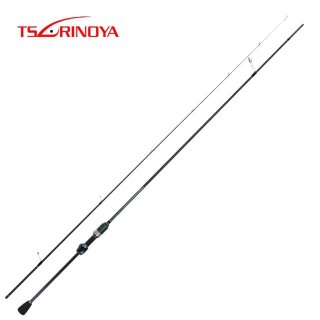 TSURINOYA DEXTERITY 2.16m UL Carbon Spinning Fishing Rod Ultralight Lure Rod FUJI Accessories Canne A Peche Hand Fishing Tackle