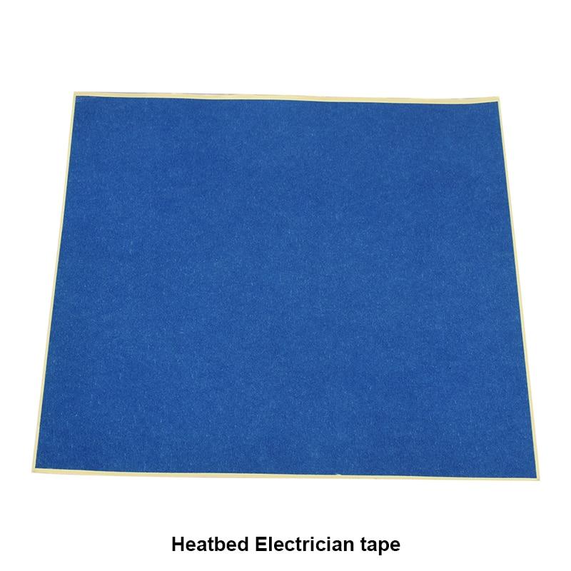 5pcs 3D printer part Blue Heat Tape Resistant High Temperature Polyimide Adhesive Tape for Reprap ma