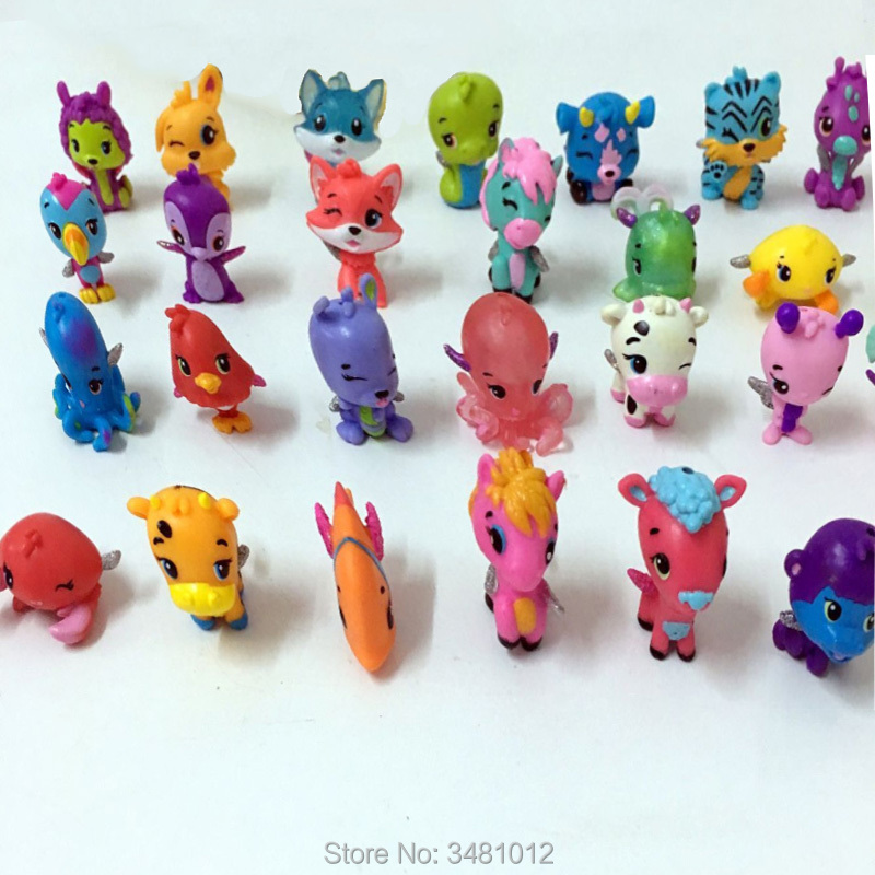 Մուլտեր Կենդանիներ Մոդել ձի շուն Mini PVC - Խաղային արձանիկներ - Լուսանկար 5