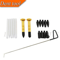 PDR Tool Auto PDR Tap Down Tool Dent Tools with 10 heads & Auto dent removal tools for hail dents creases door dings large dents