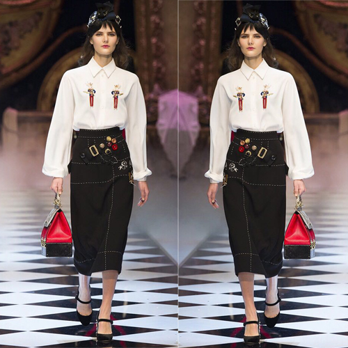 Blouse-Suit Skirt-Set Two-Piece-Set Blusas Short White Top Feminino Conjunto Slim Silk