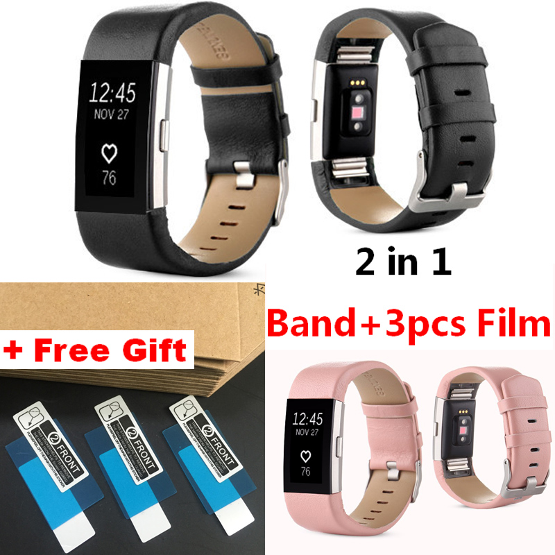Replacement Luxury Leather Watchband For Fitbit charge 2 Bracelet Bnad Strap For Fitbit charge2 Heart Rate & Activity Tracker fitbit watch