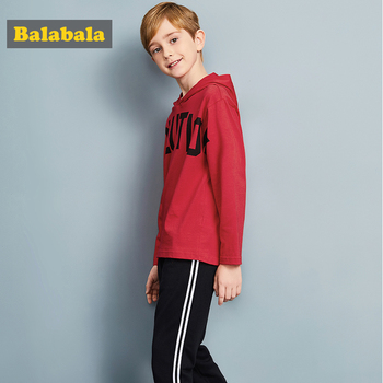 Balabala tracksuit for boys hooded coat spring boys clothes fashion children clothing set Teens sports Long Sleeve Sets For Boys 1