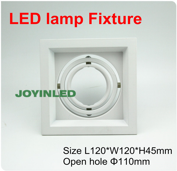5pcs Hot Sale Super Quality White Led Ceiling Fixtures 360 Degree Adjustable Led Lamp Covers Aluminum