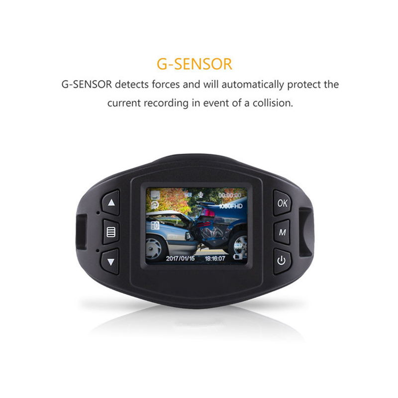 Bluavido Full HD 1080P Camcorder Avondmaal Nachtzicht Auto DVR WDR - Auto-elektronica - Foto 6