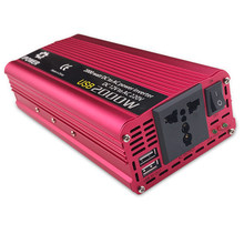 Dual USB 2000 w Watt DC 12 v naar AC 220 v Draagbare Auto Power Inverter Charger Converter Adapter DC 12 tot 220 Gemodificeerde Sinus(China)