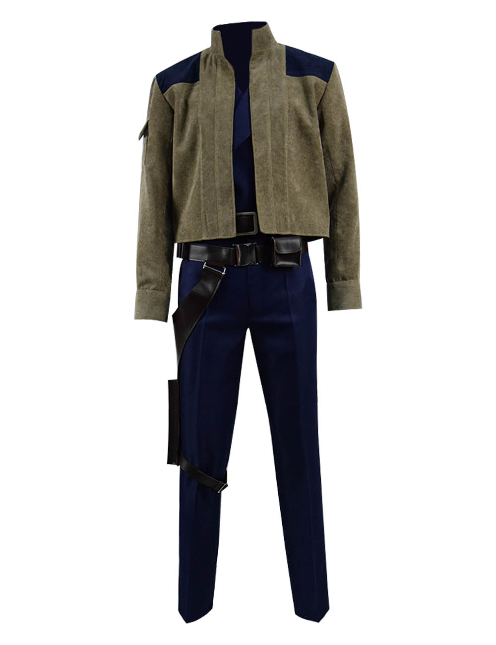 Solo A Star Wars Story Han Solo Jacket Cosplay Costume Gun Holster Men's Cosplay Full Set