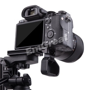"""Image 4 - Lennon Quick Release L Plate Bracket Grip voor Sony Mirrorless Camera A7II A7RII A7RIII A7SII A9 met 1/4 """"& 3/8 """"Draad Gat"""