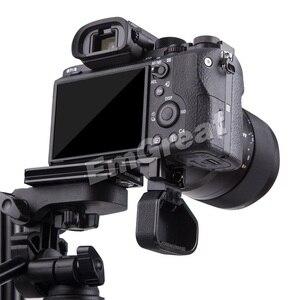"Image 4 - Lennon Sony Aynasız Kamera için Quick Release L Plaka Braketi Kavrama A7II A7RII A7RIII A7SII A9 ile 1/4 ""& 3/8"" konu Delik"