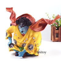 One Piece Figurine One Piece Jinbe PVC Actions Figure Collection Model Toys for Boys Gift