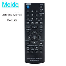 FREE SHIPPING use for  DVD remote control AKB33659510
