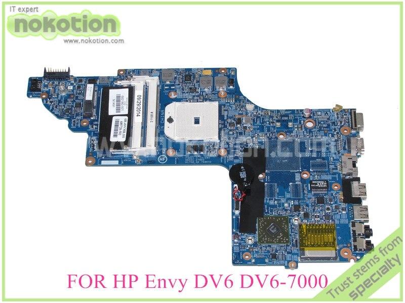 ФОТО 682180-001 682180-501 685726-501 For HP Envy DV6-7000 DV6-7229WM system board 15.6'' DDR3