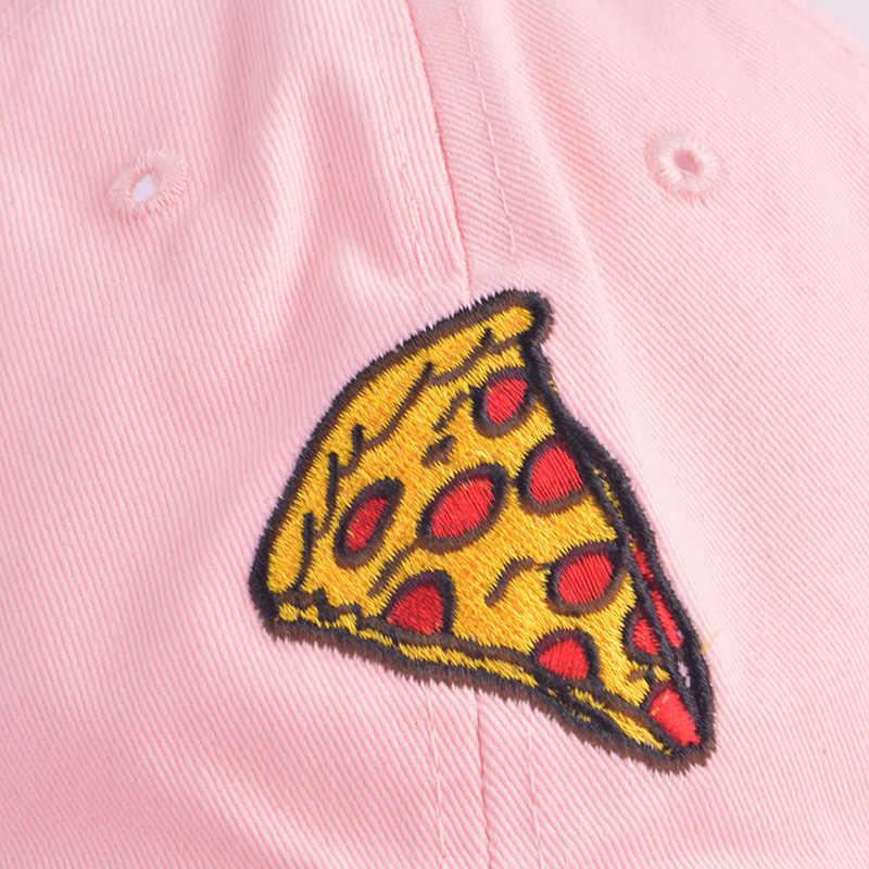 الأزياء البيتزا التطريز النساء البيسبول قبعات للجنسين الورك البوب كاب بنات Snapback كاب قناع الصيف قبعة الشمس أبي قبعة Casquette