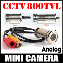 11.11 Hot Sale 800TVL CMOS HD Door cat Eye Hole Install Mini Camera 3.6 lens CCTV Security Surveillance vidicon home Video metal shrxy hotsell 170 wide angle 800tvl ccd wired mini door eye hole video camera color doorview mini cctv camera