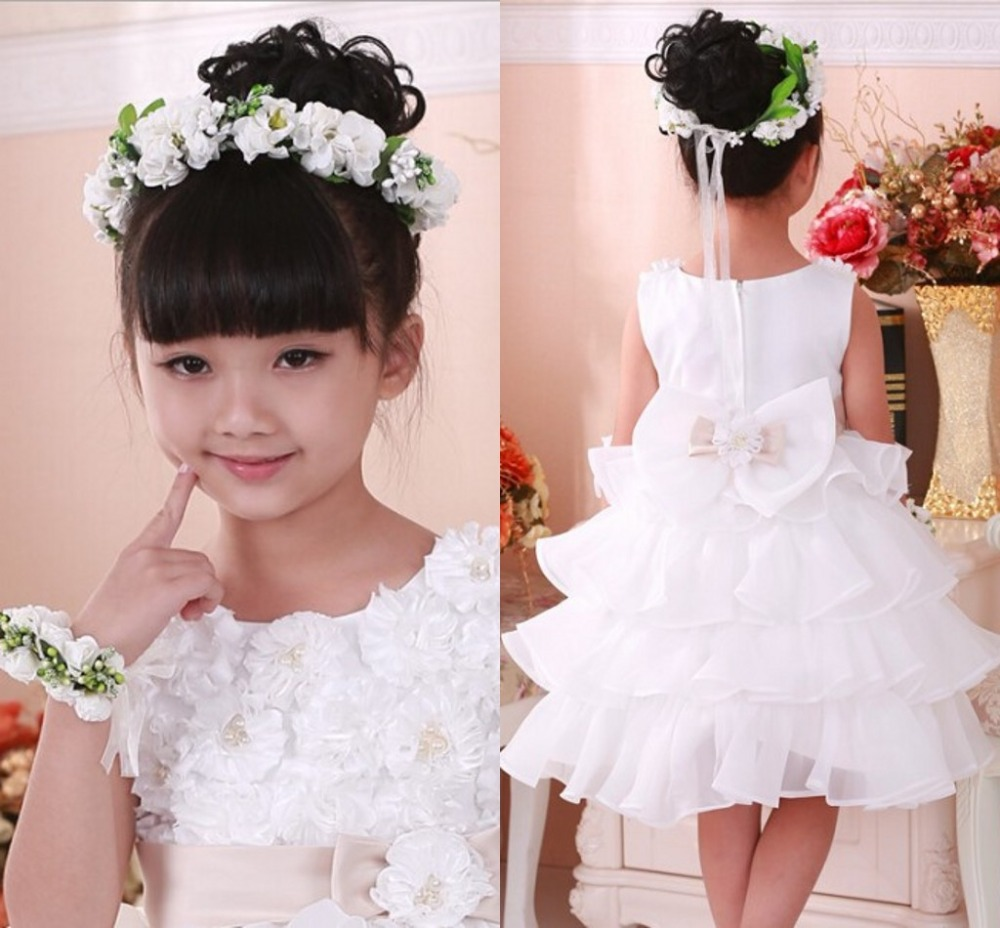 Cute Girls Fair Flower Floral Crown Bright Colored Head Band Bridal