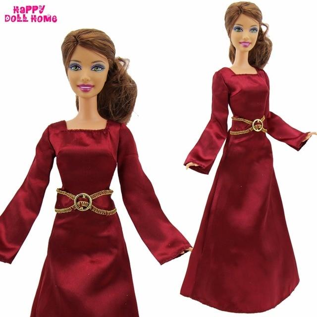 Fairy Tale Princess Dress Copy Rapunzel Outfit Dancing Ball Gown Wedding Party Clothes For Barbie Kurhn
