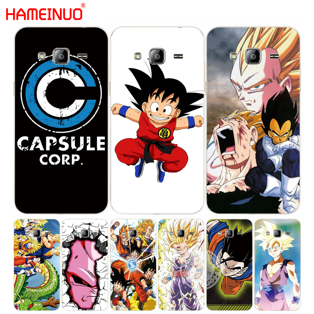 Frugal Hameinuo Goku Dragon Ball Super Cover Phone Case For Samsung Galaxy J1 J2 J3 J5 J7 Mini Ace 2016 2015 Luxuriant In Design Phone Bags & Cases